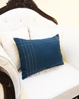 Blue Lumber Cushion
